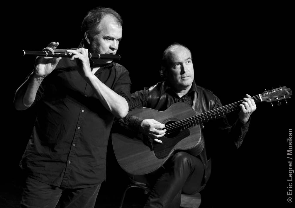 Jean-Michel Veillon & Yvon Riou : Lunchtime concert at the IWAMD, University of Limerick, Ireland @ IWAMD - University of Limerick