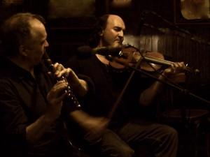 Duo Jean-Michel Veillon & Jacky Molard en concert & fest-noz à Guipavas @ Salle l'Alizé