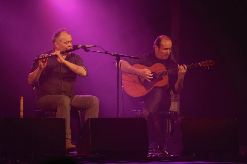 Jean-Michel Veillon & Yvon Riou at the Cobblestone, Dublin, Ireland @ The Cobblestone